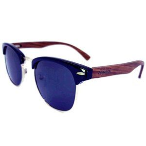Handmade ZebraWood Sunglasses, Polarized, UV400